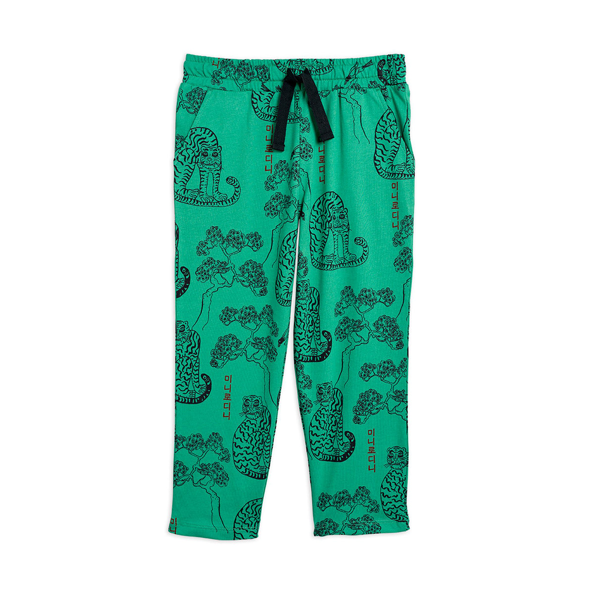 Mini Rodini tigers housut, green