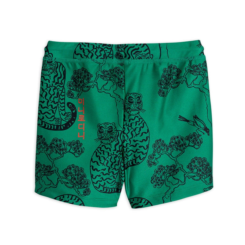 Mini Rodini tigers uv uimahousut, green