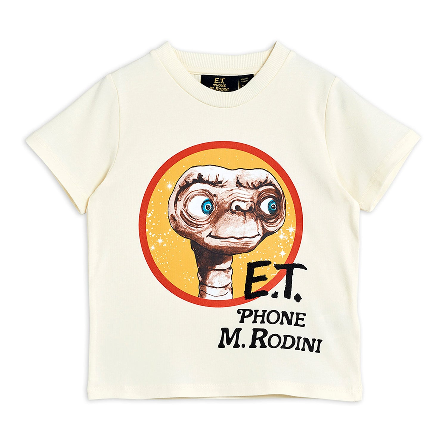 Mini Rodini E.T. sp tee, off white