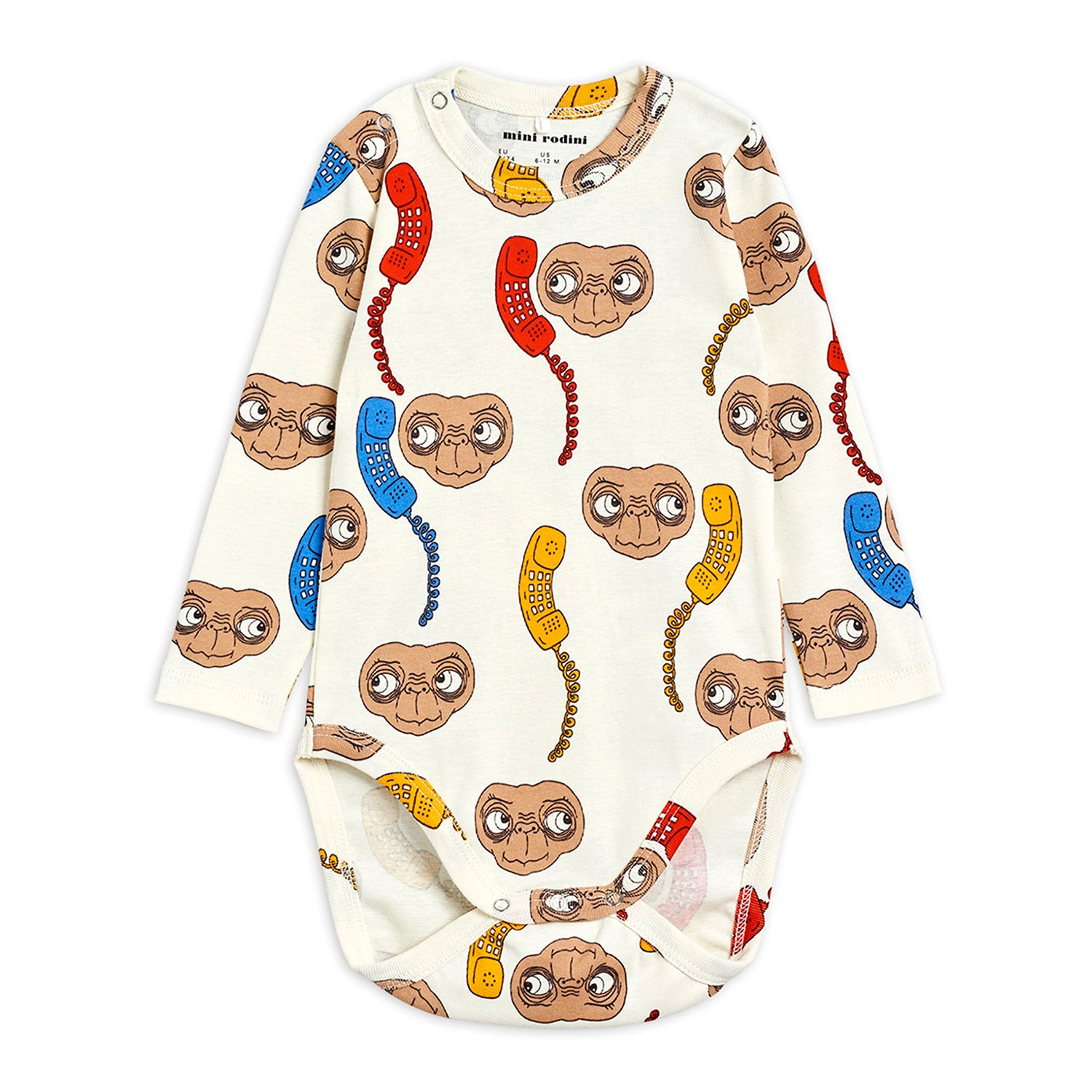 Mini Rodini E.T. body, off white