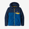 Patagonia boys' micro D snap-T fleece, superior blue