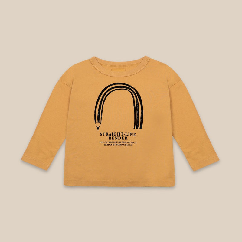 Bobo Choses straight line bender paita, sunflower