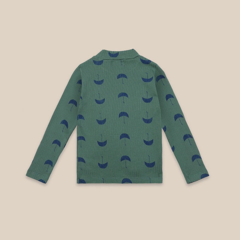 Bobo Choses umbrella aop turtle neck paita, greener pastures