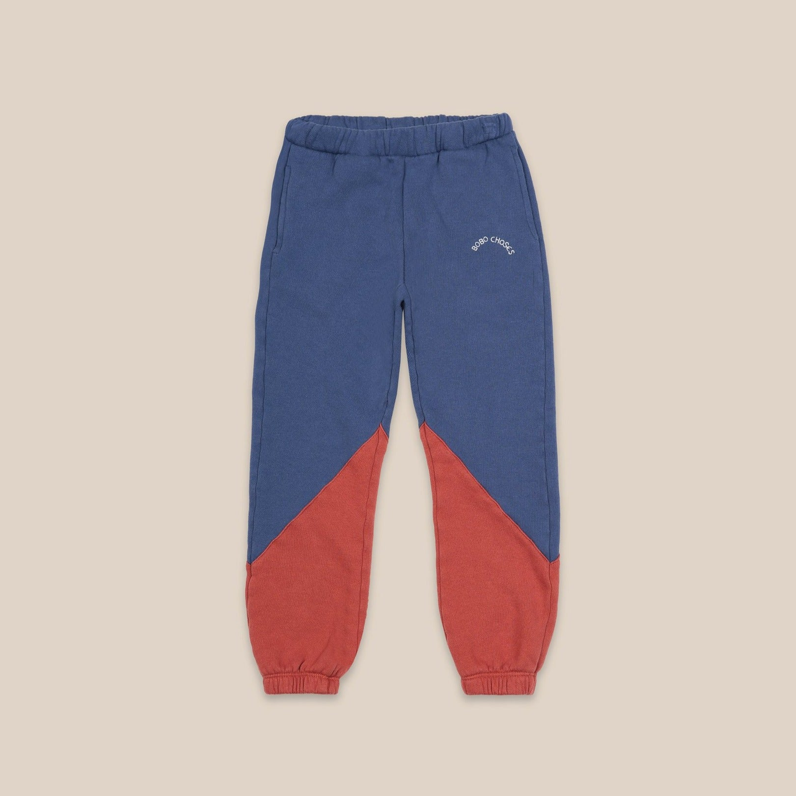 Bobo Choses color block jogging housut, atlantic deep