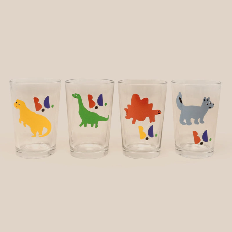 Bobo Choses dino lasit 4-pack