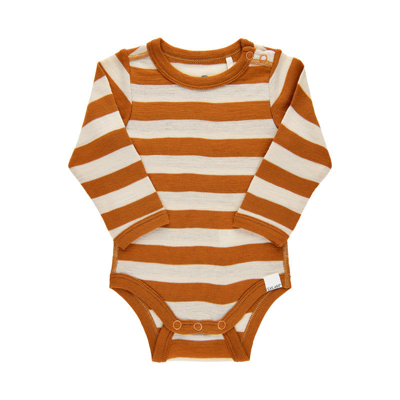 CeLaVi merinovilla stripes body, pumpkin spice