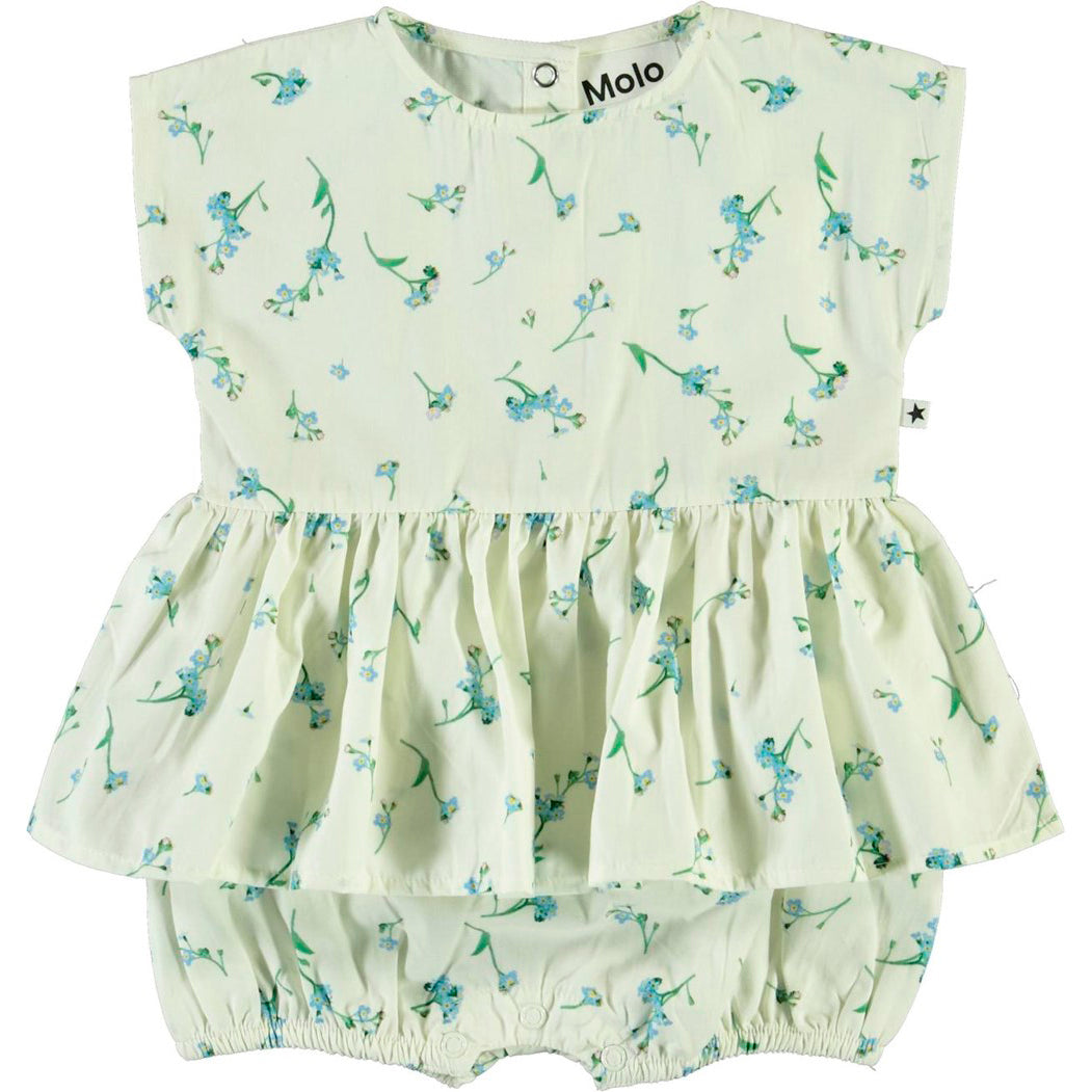 Molo chaya romper, forget me not