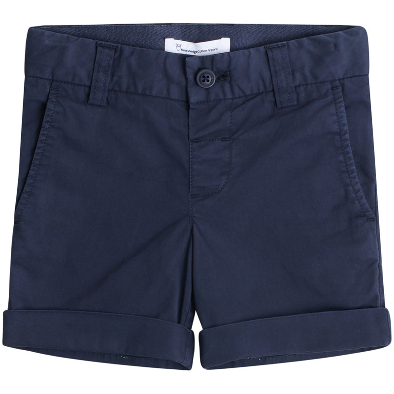 Knowledge Cotton kale regular chino shortsit, total eclipse