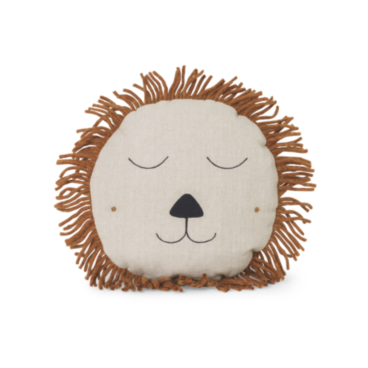 Ferm Living safari lion tyyny, natural