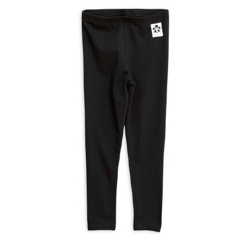 Mini Rodini basic leggings, black