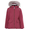 Molo cathy fur recycle talvitakki, maroon