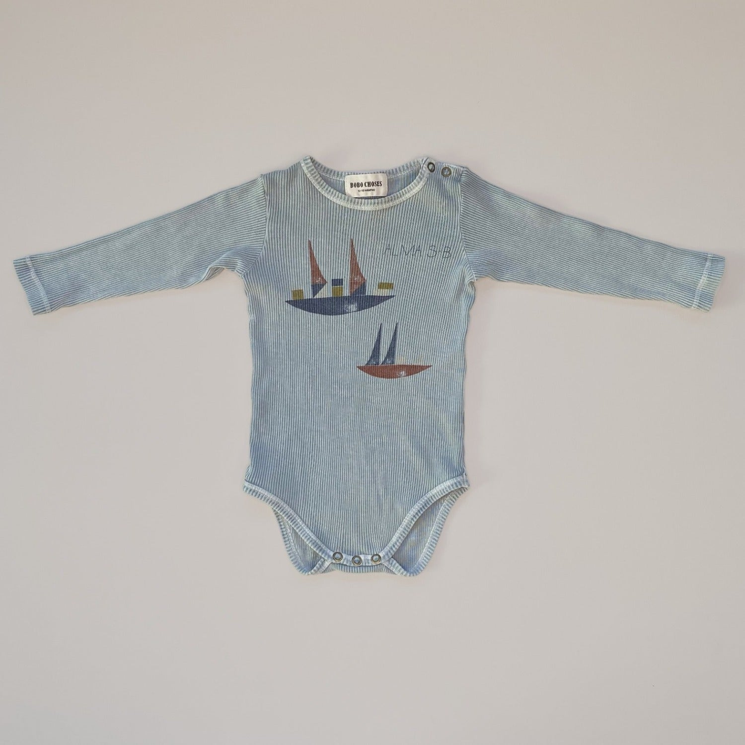 Re-wear : Bobo Choses alma body, light blue | 12-18kk