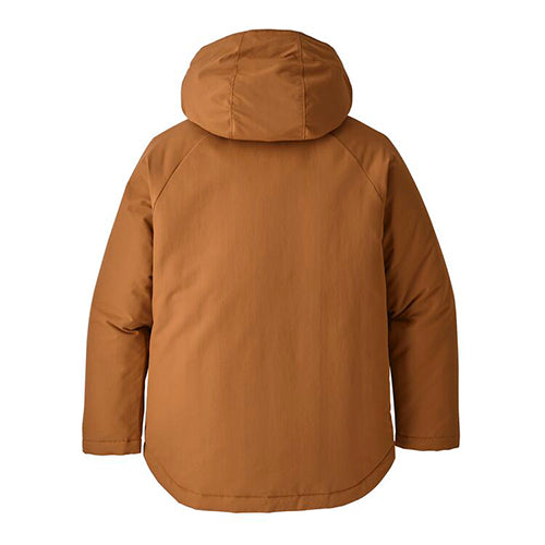 Patagonia boy's insulated isthmus takki, beech brown