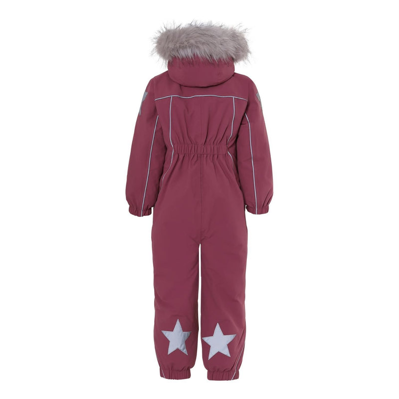 Molo polaris fur recycle talvihaalari, maroon