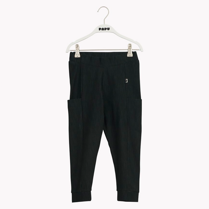 Papu thigh pocket housut, school green