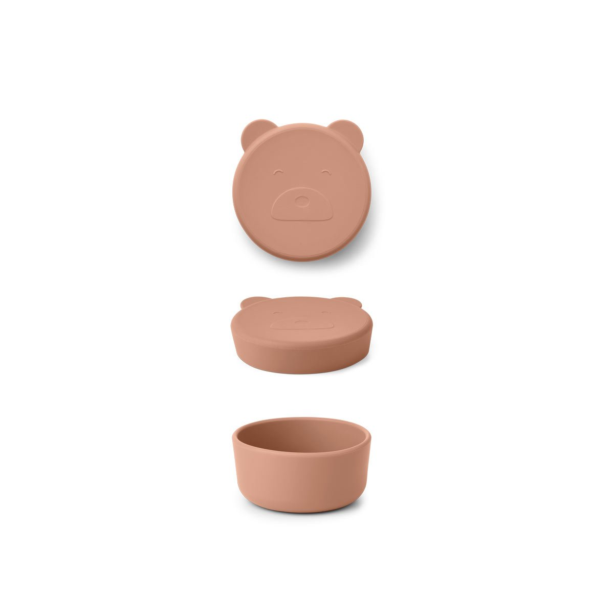 Liewood carrie mr bear snack box, tuscany rose