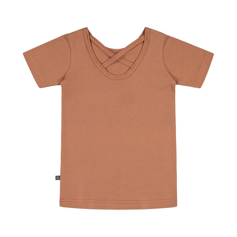 Kaiko cross tee, mocha