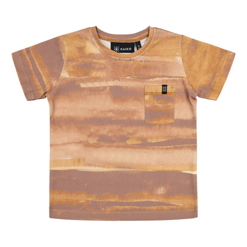 Kaiko treasure tee, ginger canvas