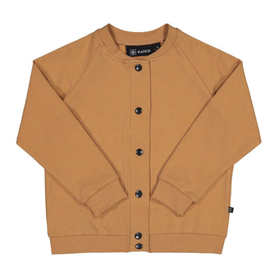 Kaiko snap button bomber, latte