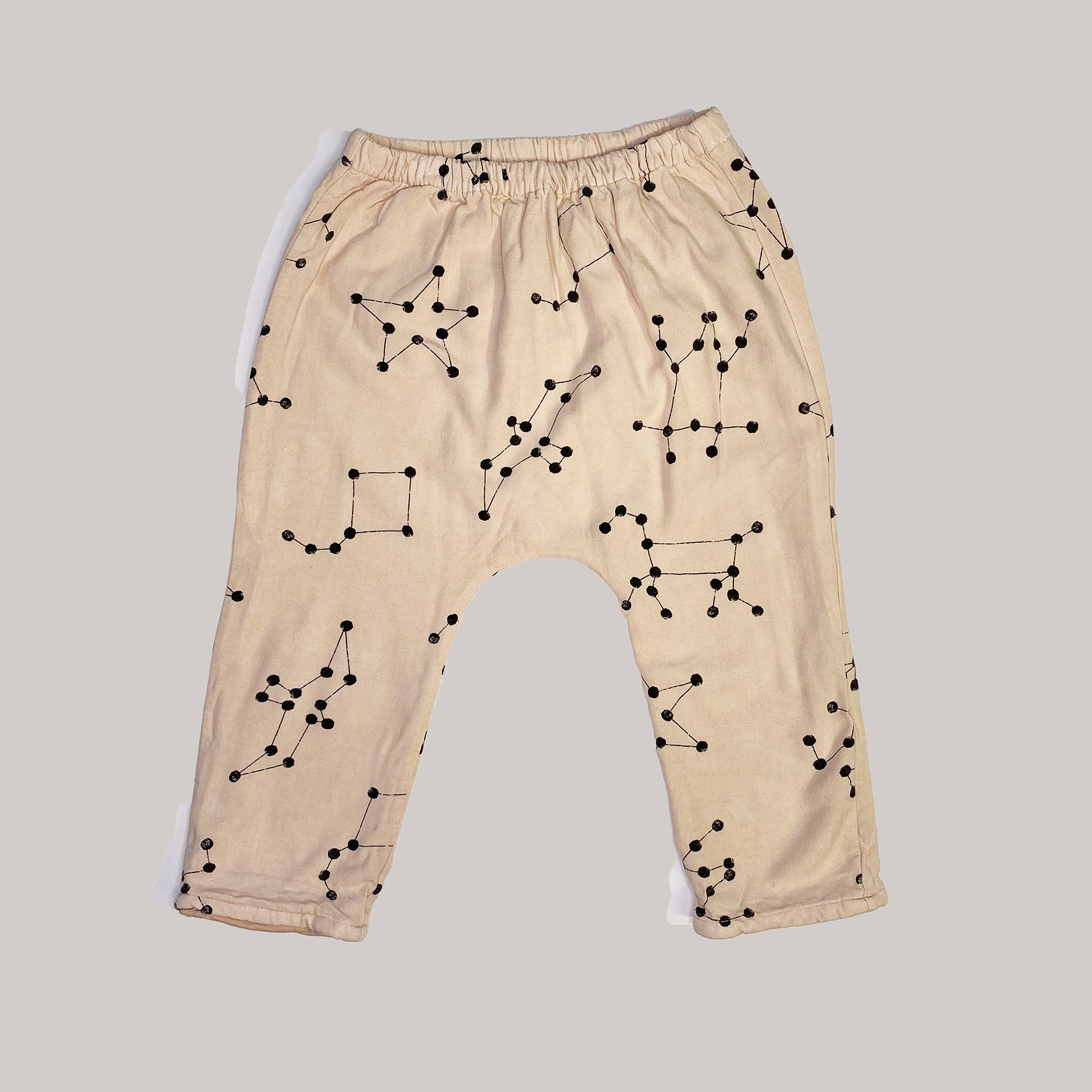 Re-wear : Bobo Choses constellation puuvillahousut, pink | 18-24kk