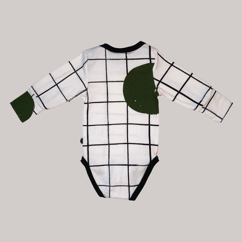 Re-wear : Papu grid body, white | 50/56cm