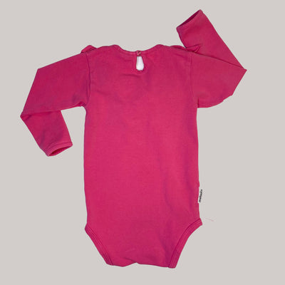 Re-wear : Metsola frilla body, pink | 80cm