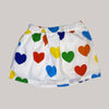 Re-wear : Mini Rodini hearts hame, white | 80/86cm