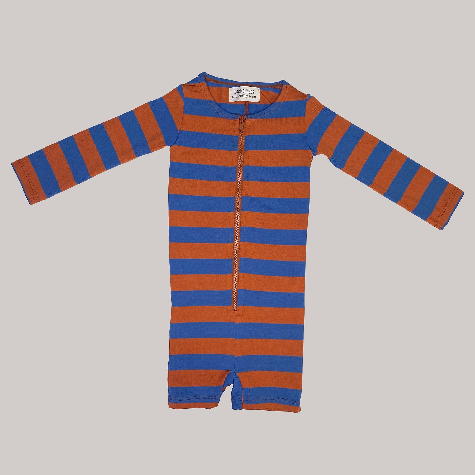 Re-wear : Bobo Choses uimapuku, blue/ brown | 74cm