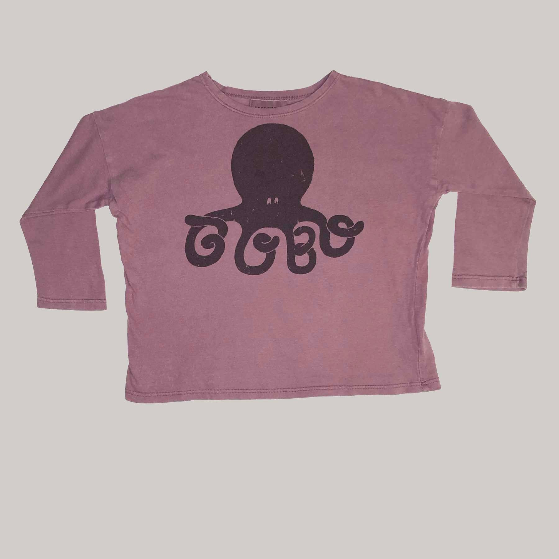 Re-wear : Bobo Choses octopus paita, purple  | 98cm