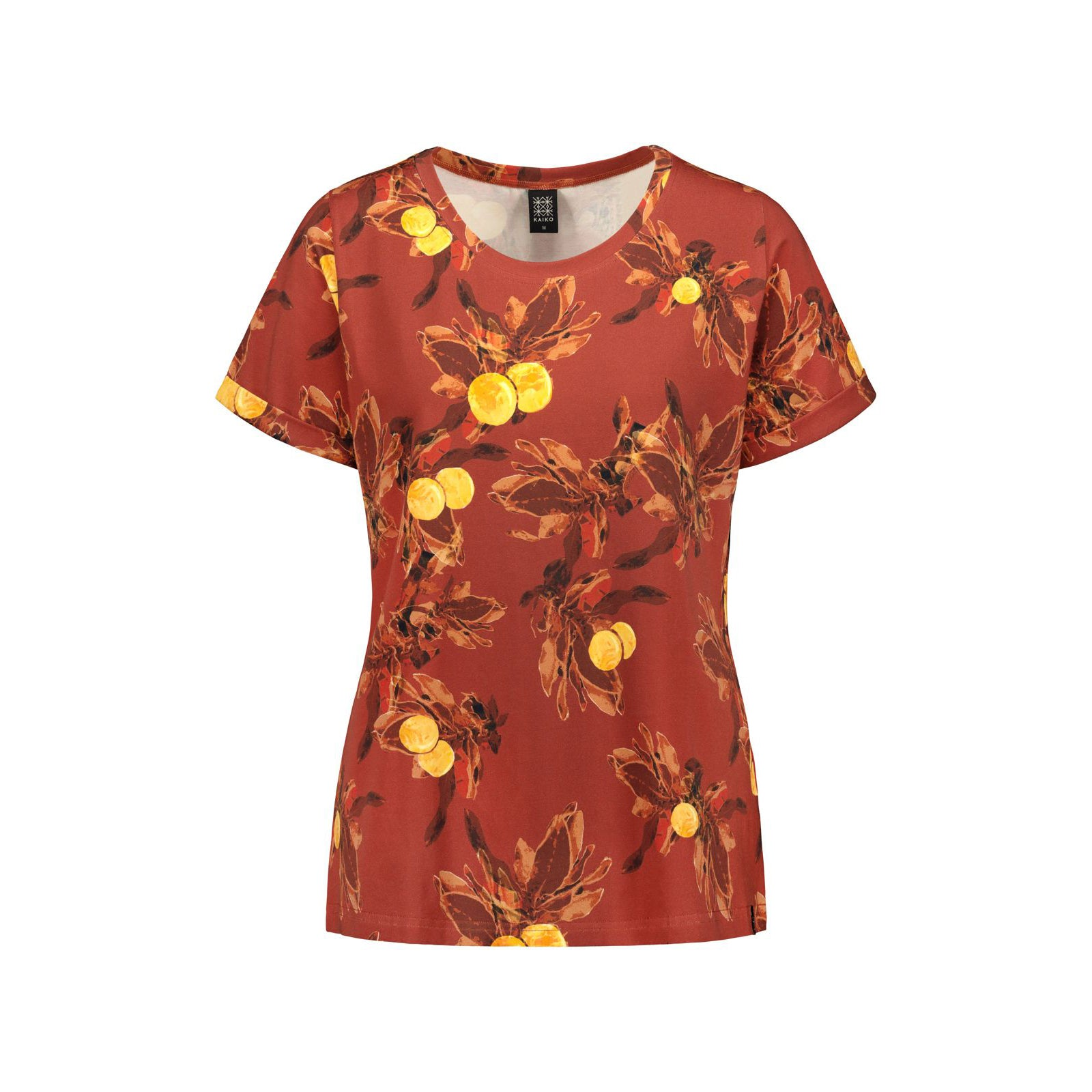 Kaiko naisten everyday tee, amber orange