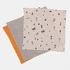 Ferm Living muslin harsot 3pack, fruiticana