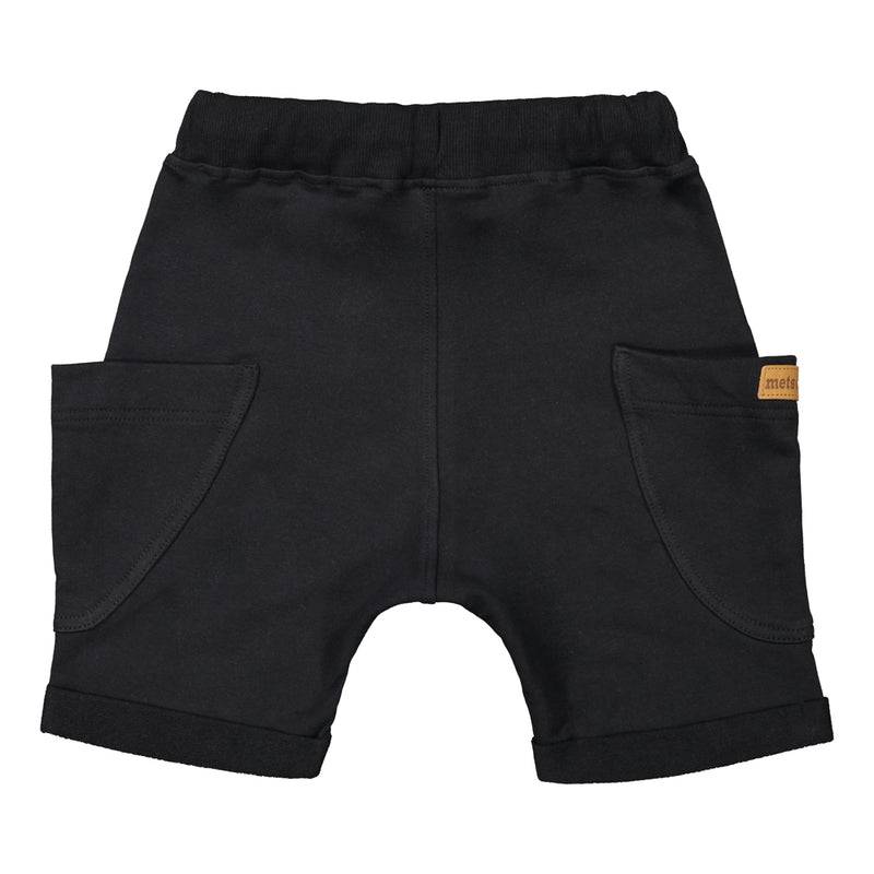 Metsola pocket shortsit, black