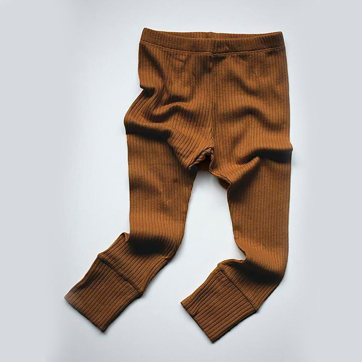The Simple Folk ribbed leggings, bronze