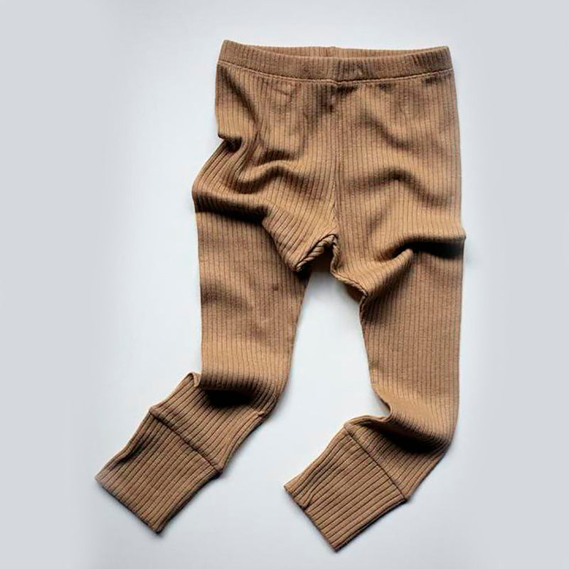 The Simple Folk ribbed leggings, camel