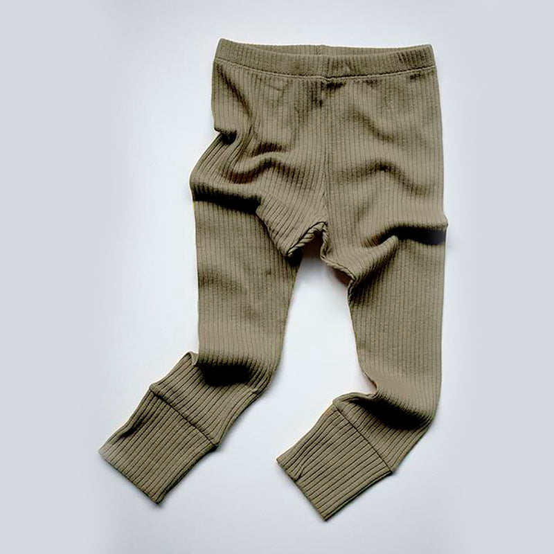 The Simple Folk ribbed leggings, sage