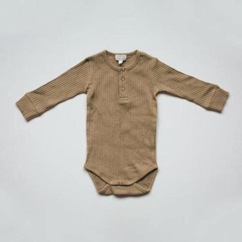 The Simple Folk ribbed body, camel