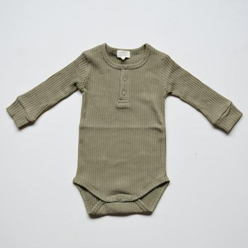 The Simple Folk ribbed body, sage
