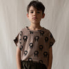 Monkind something tee, brown
