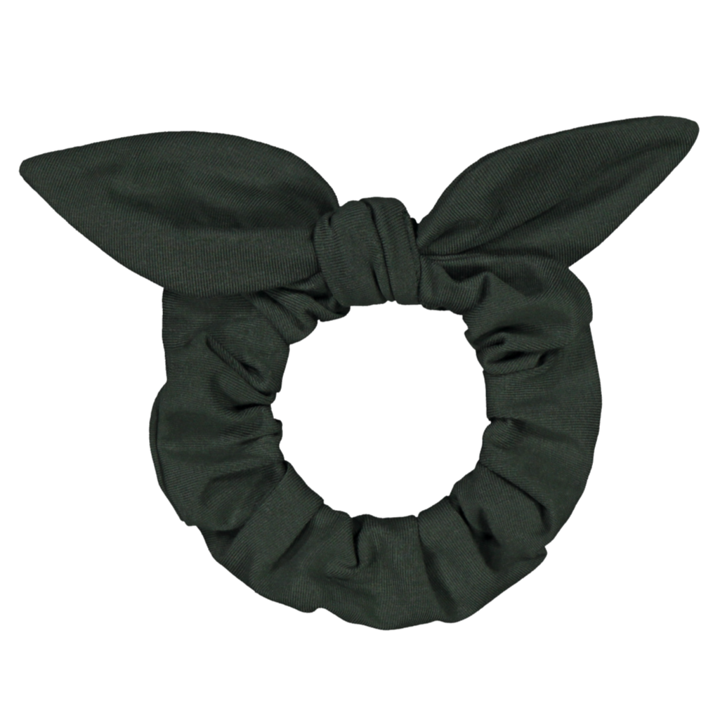 Kaiko bow scrunchie, forest