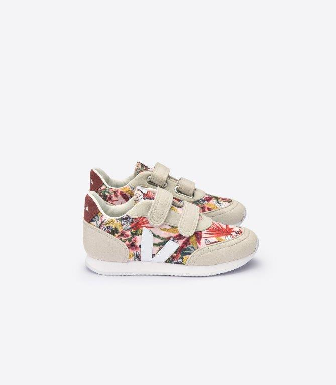 Veja Arcade yucca junior tarralenkkarit, white/dried petale