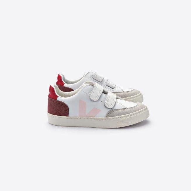 Veja V-12 leather tarralenkkarit, multico/petale