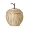 Ferm Living small apple punottu kori, natural