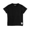 Mini Rodini basic tee, black