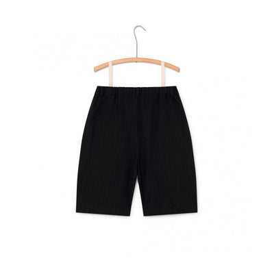 Little Creative Factory crushed cotton shortsit, black