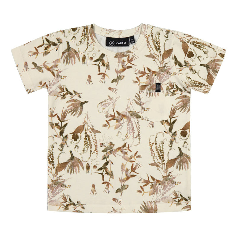 Kaiko treasure tee, dried botany
