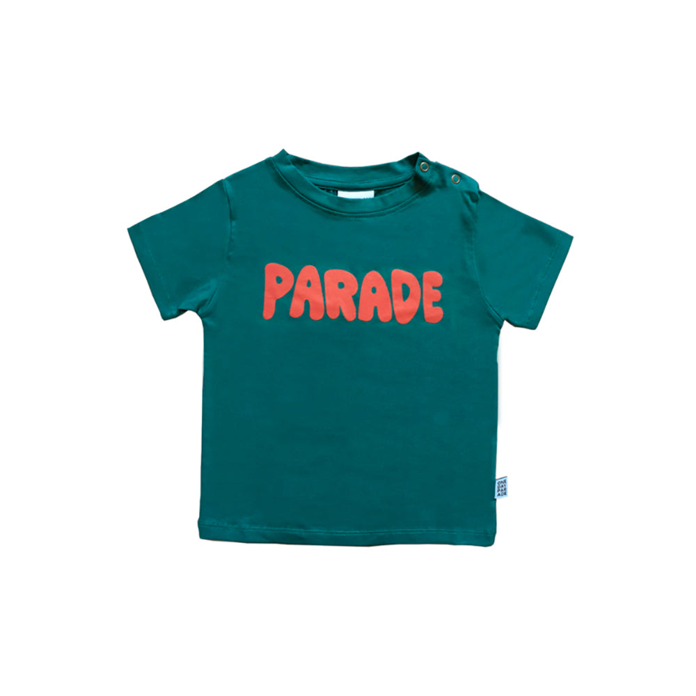 One day parade green parade tee, green