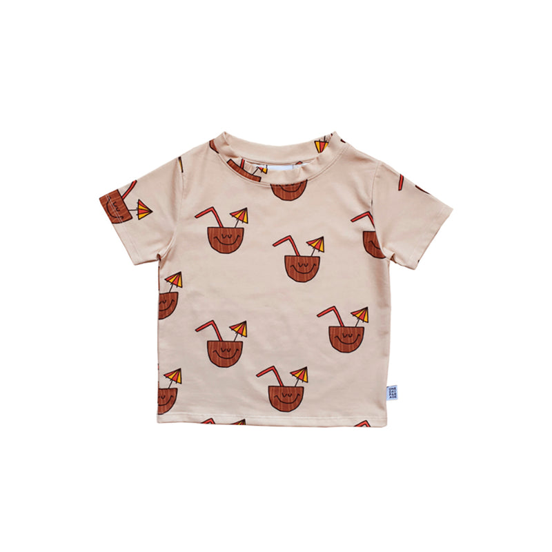 One day parade coconut tee, beige
