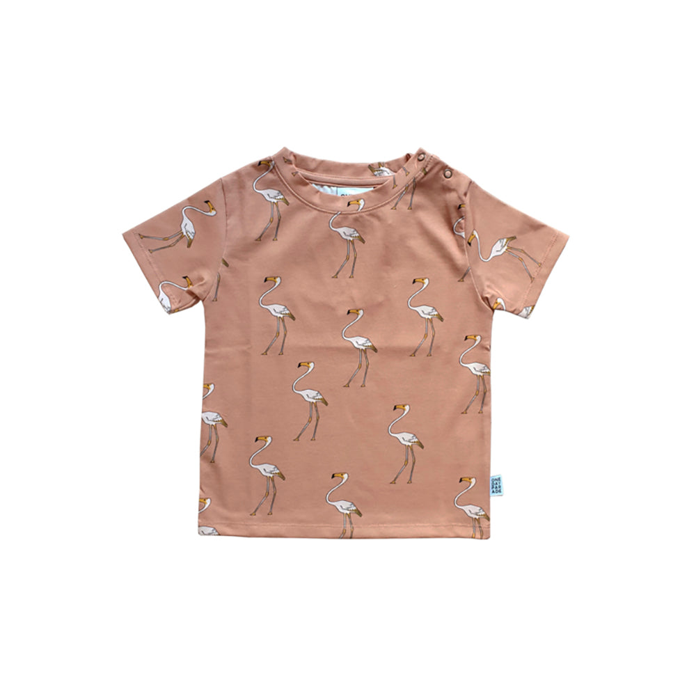 One day parade flamingo tee, beige
