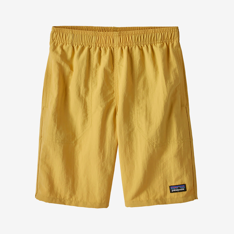 Patagonia boys' baggies shortsit, surfboard yellow