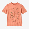 Patagonia boys' paddle pack tee, mellow melon